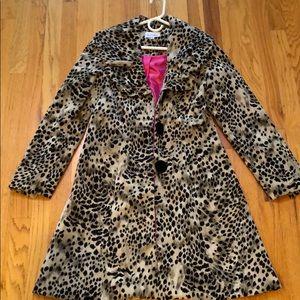 Cheetah Print Coat